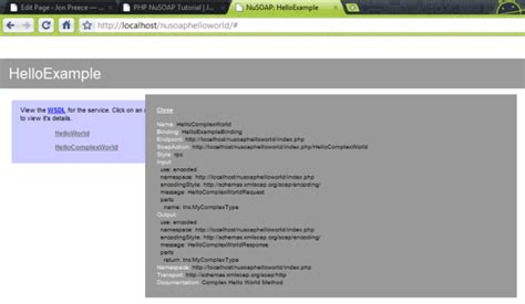 tutorial nusoap php php nusoap tutorial codeproject