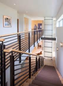 Modern Stair Banister by Modern Interior Railings Related Keywords Amp Suggestions