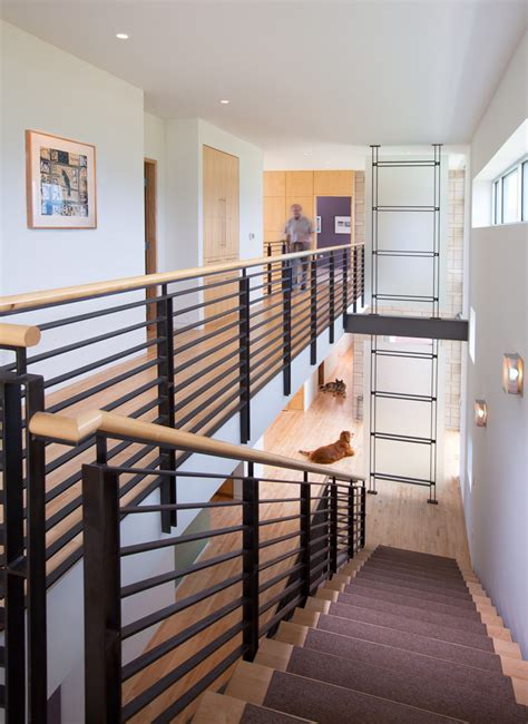 contemporary stair banisters dreamscape modern in denver colorado s design magazine