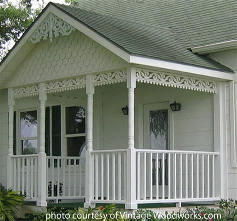 Banisters And Spindles Stylish Gingerbread House Trim