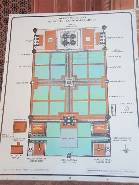 taj mahal floor plan a from other side the taj mahal redbluegrin