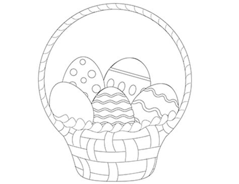 kids easter coloring pages lovetoknow