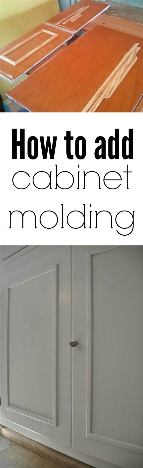 how to add crown molding to kitchen cabinets best 25 cabinet molding ideas on pinterest kitchen