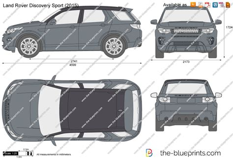 range rover vector the blueprints com vector drawing land rover discovery