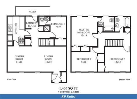 4 bedroom 2 bath pin by navy housing on ns norfolk va pinterest