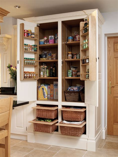 pantry armoire larder another idea to give a retro feel to your kitchen