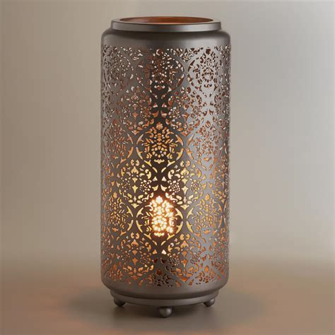 Punched tin lamps   Lighting and Ceiling Fans