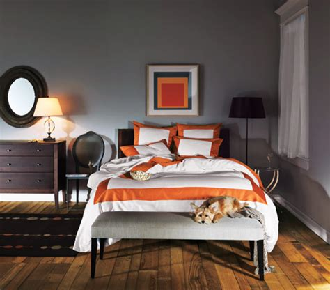 Orange And Grey Room Decor by Best 25 Grey Orange Bedroom Ideas On Orange