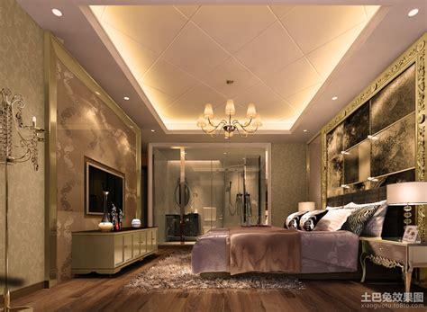 Small Ceiling Design 欧式别墅卧室吊顶装修效果图 土巴兔装修效果图