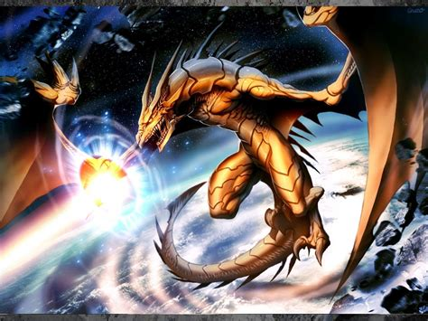 wallpaper gold dragon anime dragon wallpapers wallpaper cave