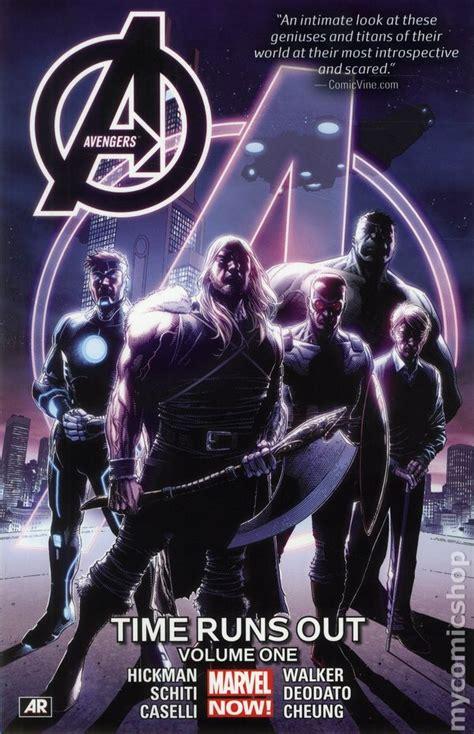 avengers time runs out 0785192220 avengers time runs out tpb 2015 marvel now comic books