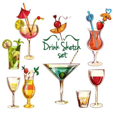 cocktail vector laguna fotos y vectores gratis
