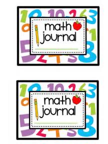 Math Journal Template by Bits And Bobs End Of Summer And Week Of