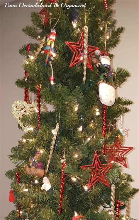 decorating a special christmas tree from overwhelmed to