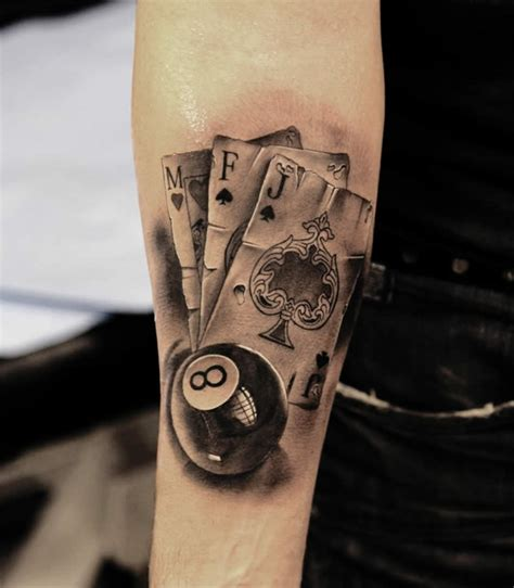 8 ball tattoo designs amazing tattoos