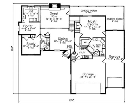 southern style home floor plans southern style house plan 3 beds 3 baths 2441 sq ft plan