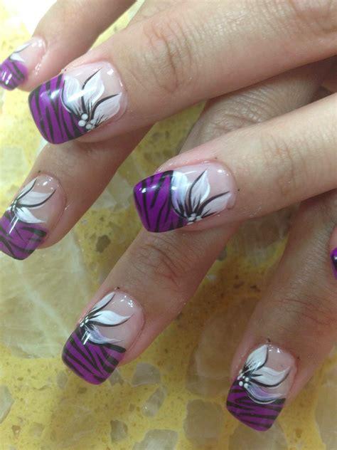 nail best purple tiger stargazer nail designs by top nails