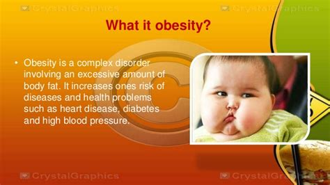 childhood obesity powerpoint templates power point presentation about obesity