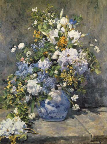 quadri con vasi di fiori grande vaso con fiori quadro di auguste renoir