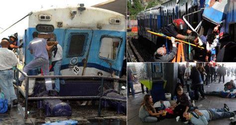 imagenes impactantes de la tragedia de once tragedia de once los directivos de tba culparon al