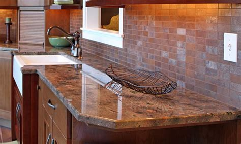 Ceramic Tile Kitchen Backsplash by New Kitchen Countertops In Central Wisconsin New Countertops