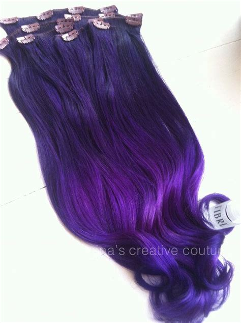 hair extensions purple ombre ombrehair ombrehairextensions ombre hair