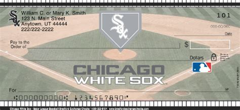 Chicago Background Check Chicago White Sox Mlb 174 Personal Checks
