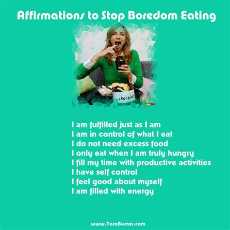 how to stop time affirmations for preventing boredom