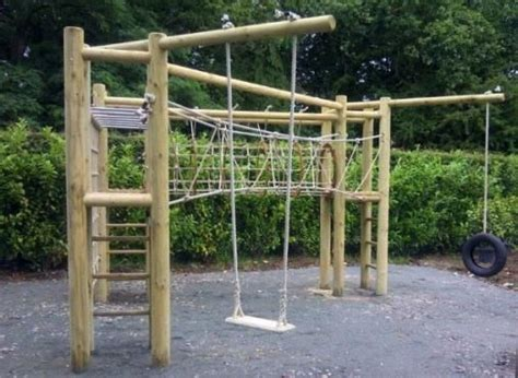 love swing frame triple tower wooden adventure climbing frame love the