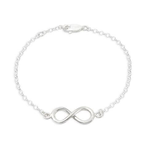 Tales From The Earth Silver Bracelet At Asos by Sterling Silver Infinity Bracelet Tales From The Earth