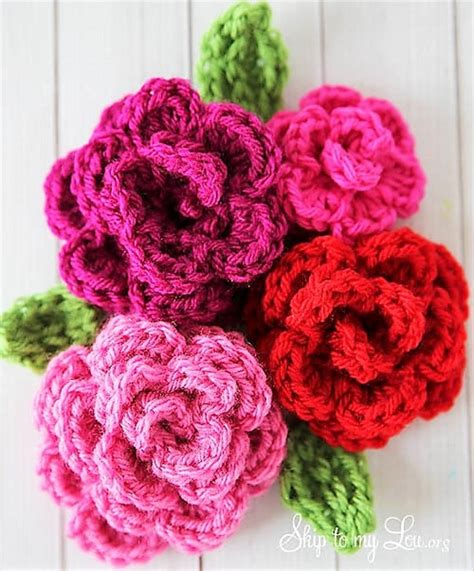 free pattern on how to crochet flowers simply easy free crochet flower patterns 1001 crochet