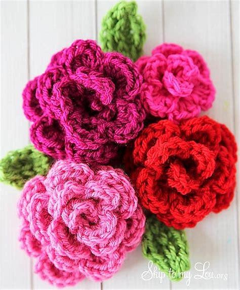 pattern crochet flower easy simply easy free crochet flower patterns 1001 crochet