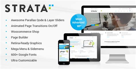 themeforest qode strata professional multi purpose theme by qode