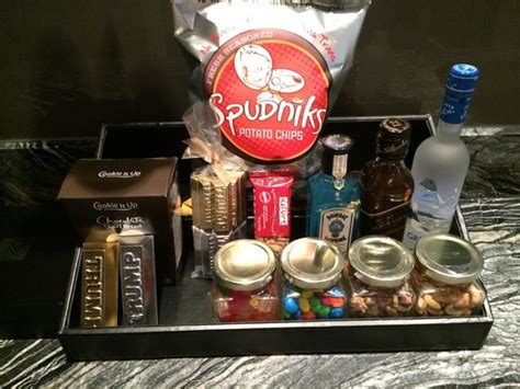 Bar Items Some Mini Bar Items Picture Of The Adelaide Hotel