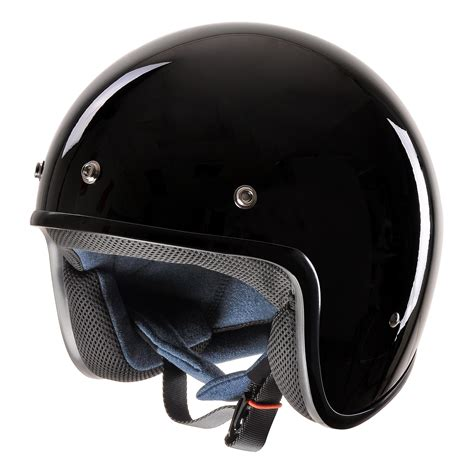 Open Retro Cycling Motorcycle Skull Helmet vintage retro 3 4 open motorcycle helmet dot scooter bike size color opt ebay