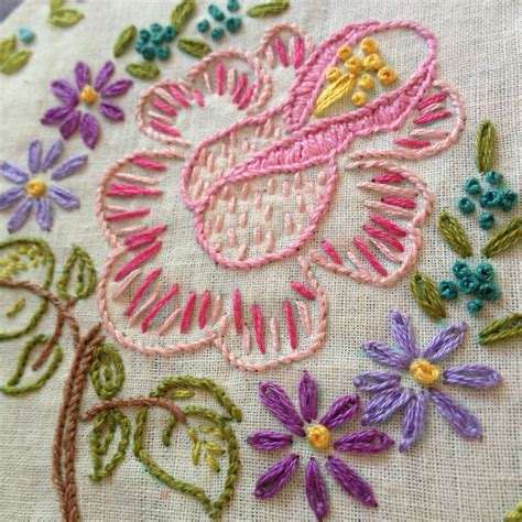 Handmade Embroidery Patterns - vintage embroidery patterns my original inspiration