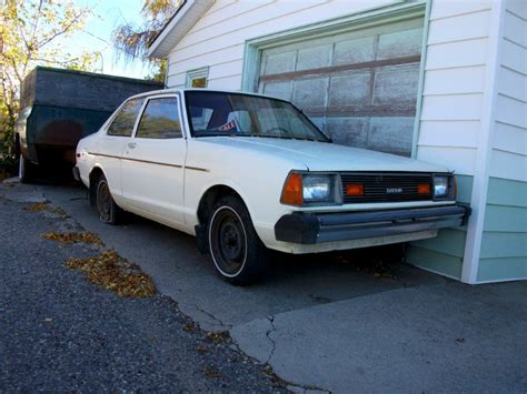 1981 datsun 210 for sale coal 1981 datsun 210 screwed by a gearbox