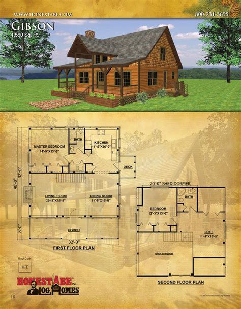honest abe log homes floor plan catalog by honest abe log