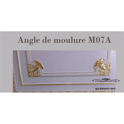 Angle Moulure Plafond by Angle De Moulure Ref M07a Gypsum