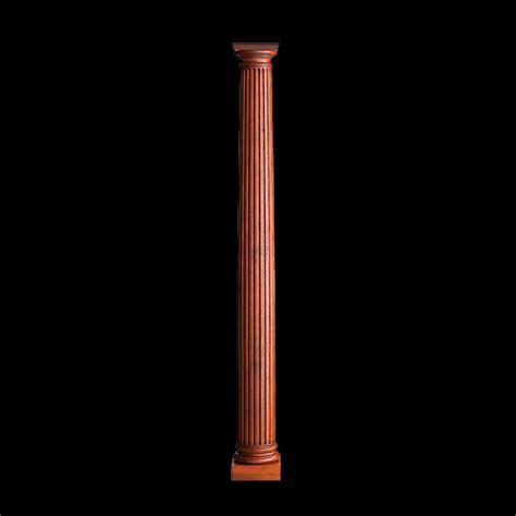 Solid Wood Columns Replacement Fireplace Wood Columns Fluted Columns