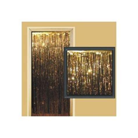 metallic gold fringe curtain gold metallic fringed door curtain windy city novelties