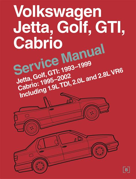 front cover vw volkswagen repair manual jetta golf gti 1993 1999 cabrio 1995 2002