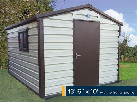 garden chalet shed plans ksheda garden chalets gallery steeltech garden sheds ireland
