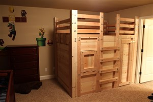 toddler loft bed plans the bed fort locked up built from queen loft bed plans