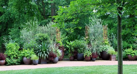 Potted Garden by Potted Garden Walk Haluchs Landscaping Products