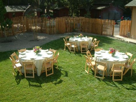 backyard anniversary party wedding and event photo gallery bend or set in your way