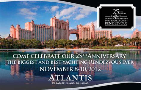 showboat y megayacht global 25th showboats international rendezvous