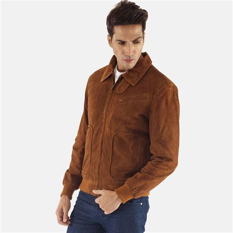 Jaket Suede Suede Jacket mens brown suede leather jacket the flash board