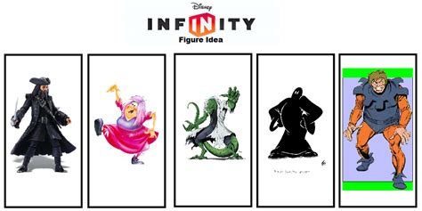 disney infinity villians disney infinity figure idea villains 2 by thefoxprince11