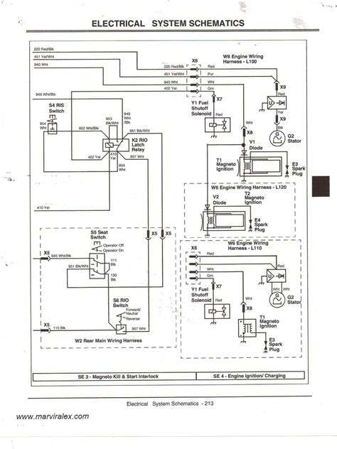 wiring diagram for deere l100 wiring diagram with